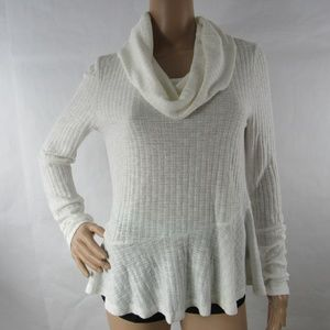 Maeve by Anthropolgie  Shirt Sweater Cowl Neck
